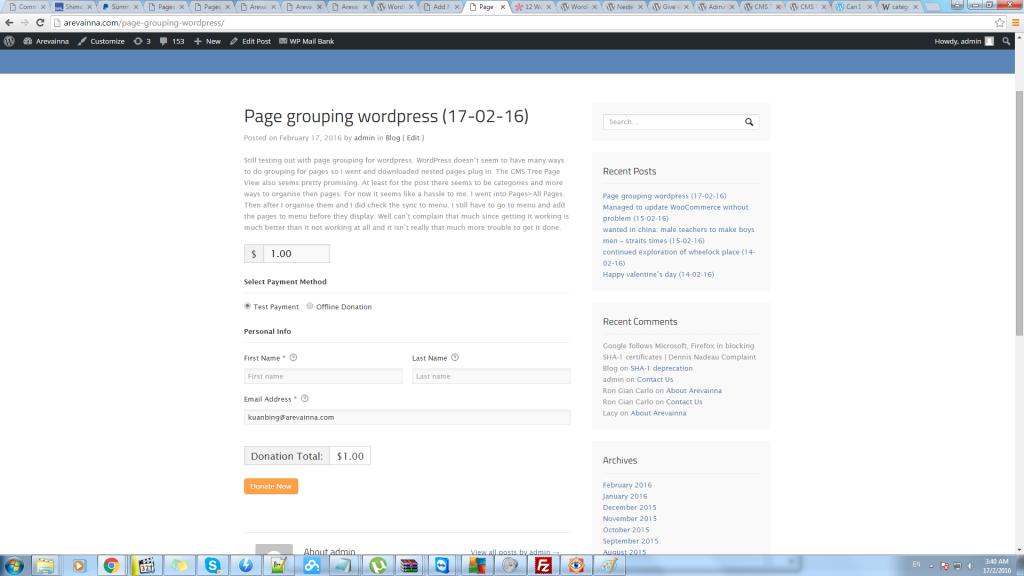 wordpress give donation plugin 1